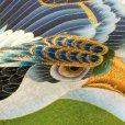 画像5: お宮参りの着物 初着 産着 男の子用 2019年新作 斬新な配色のお祝い着(正絹)【抹茶、鷹と小槌】