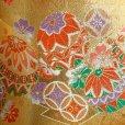 画像9: 七五三 7歳 女の子 結び帯 はこせこセット ペアセット 作り帯 草履 バッグ 他小物【ゴールド、鞠と七宝】