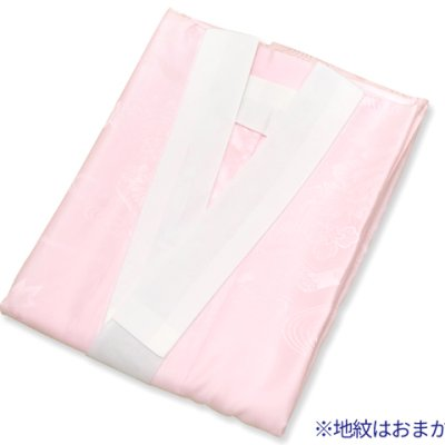 画像5: 長襦袢 振袖用 長襦袢 袖丈 Sサイズ 104cm 適応:150cm前後【ピンク】