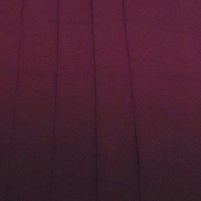 画像2: 卒業式に 女性用 シンプルな無地ぼかしの袴【ワイン系】[S/M/L/2Lサイズ]