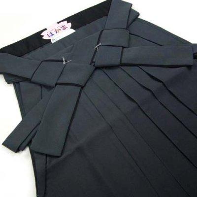 画像3: 卒業式に 女性用 シンプルな無地ぼかしの袴【グレー系】[S/M/L/2Lサイズ]