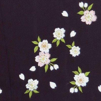画像3: 卒業式に 女性用 桜刺繍のぼかし袴【紫系】[S/M/L/2Lサイズ]