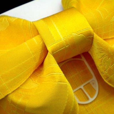 画像3: 子供浴衣帯 女の子用作り帯(結び帯)【黄色、アゲハ蝶】