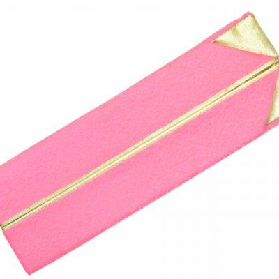画像3: 重ね衿 リバーシブル 4wayタイプの重ね衿 伊達衿(正絹)【ピンク】