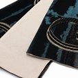 画像4: 半幅帯 リバーシブル おりびと ブランド 浮世絵柄の半幅帯 合繊【黒地 尾州不二見原】 (4)