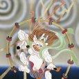 画像4: 産着 お宮参りの着物 日本製 男の子のお祝い着(初着) 正絹【紺地、風神雷神】