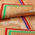 画像5: 七五三 袋帯 正絹 桐生織 こども・ジュニア用 日本製 全通の女の子用祝帯 仕立て上がり【金、角】