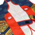 画像4: 初節句(端午の節句)に 男の子 赤ちゃん用の陣羽織 スタンド付き【紺 亀甲龍】