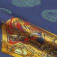 画像6: 初節句(端午の節句)に 男の子 赤ちゃん用の陣羽織 スタンド付き【紺 亀甲龍】