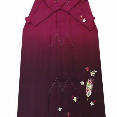 画像5: 小学生 卒業式 女の子 袴セット 購入 ジュニア振袖 ぼかし刺繍袴 3点セット【桃&水色 鞠】