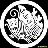 [貼り付け家紋(家紋シール)]丸に揚羽蝶