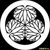 [貼り付け家紋(家紋シール)]徳川葵