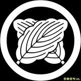 [貼り付け家紋(家紋シール)]丸に違い柏