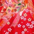 画像4: お宮参り 女の子 着物 日本製 赤ちゃんのお祝い着 (初着 産着) 正絹【赤、束ね熨斗】