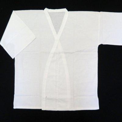 画像3: メンズ着物用インナー 男性用和装肌着 肌襦袢 肌じゅばん 日本製 M/Lサイズ【白】