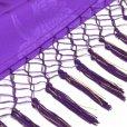 画像6: しごきと帯揚げセット 七五三の着物に 子供用の志古貴と帯揚げ【紫】