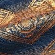 画像5: 七五三 袴 3歳 男の子 金襴生地の袴 53cm [単品] (合繊) 【金グレー 花菱】 (5)