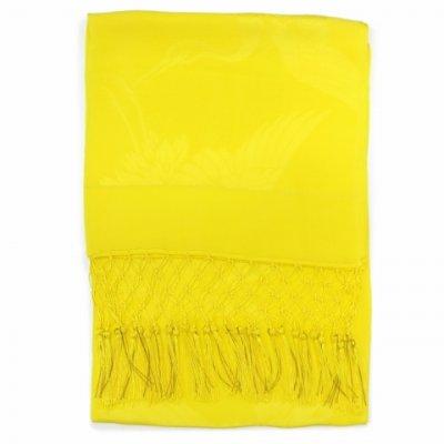 画像2: 七五三 子供着物用 正絹 七宝房の志古貴(しごき)【黄色】