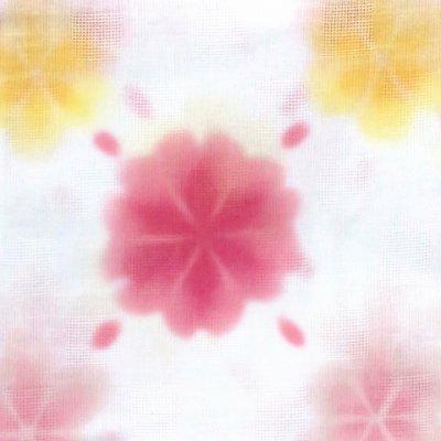 画像4: こども浴衣 式部浪漫 ブランド キッズ浴衣 レトロ柄 女の子 適応身長100cm前後【白地、雪 ピンク】