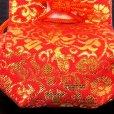 画像9: お宮参り 女の子 赤ちゃん用 日本製 正絹 よだれかけ 帽子 小物 4点セット【薄ピンク】