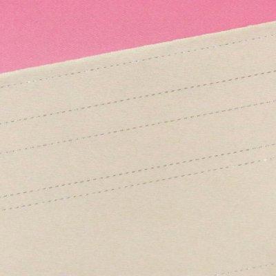 画像4: 国産 無地ぼかし2色 ラメ入り浴衣帯【白&ピンク】