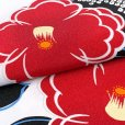 画像3: 卒業式 袴セット 女子 大学生 小学生 二尺袖着物 ショート丈 刺繍袴 2点セット(合繊)【白地、椿】