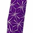 画像5: 卒業式 袴セット 女性用 二尺袖着物 ショート丈 刺繍袴 2点セット(合繊)【紫、麻の葉】