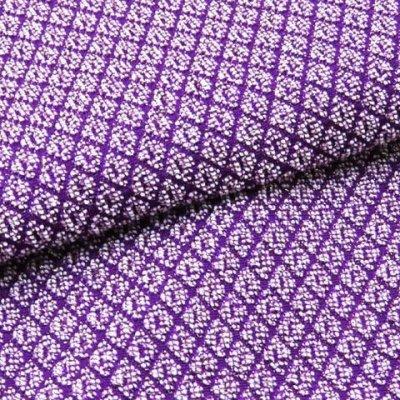 画像3: 振袖用 帯揚げ 鹿の子織 の帯上げ 単品【紫】