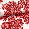 画像8: 七五三 着物 3歳 フルセット 女の子の被布コートセット 合繊 日本製 【白x赤 白系、鈴】