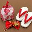 画像9: 七五三 着物 3歳 フルセット 女の子の被布コートセット 合繊 日本製 【白x赤 白系、鈴】