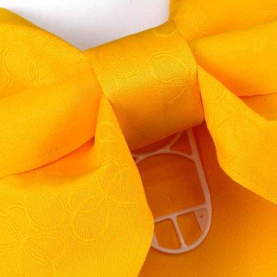 画像3: ジュニア用浴衣帯 女の子 作り帯(結び帯)【黄色、蝶】