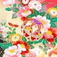 画像4: 【アウトレット 訳あり品】七五三 着物 3歳 女の子 絵羽柄の三ツ身の子供着物 襦袢付き【ピンク、蝶々】