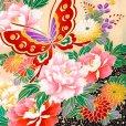 画像5: 【アウトレット 訳あり品】七五三 着物 3歳 女の子 絵羽柄の三ツ身の子供着物 襦袢付き【ピンク、蝶々】