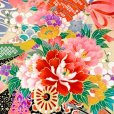 画像6: 【アウトレット 訳あり品】七五三 着物 3歳 女の子 絵羽柄の三ツ身の子供着物 襦袢付き【ピンク、蝶々】