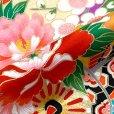 画像7: 【アウトレット 訳あり品】七五三 着物 3歳 女の子 絵羽柄の三ツ身の子供着物 襦袢付き【ピンク、蝶々】