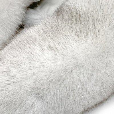 画像4: SAGA FOX 高級ショール フォックスファーショール サガ 毛皮 日本製【ブルーフォックス】