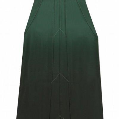 画像5: 卒業式 袴 女性用 刺繍入りぼかし袴【濃淡緑、矢羽根・梅】[S/M/L/2Lサイズ]