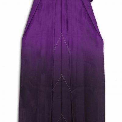 画像5: 卒業式 小学生向け ジュニアサイズの女の子用刺繍入りぼかし袴(140サイズ)【紫、矢絣と梅】