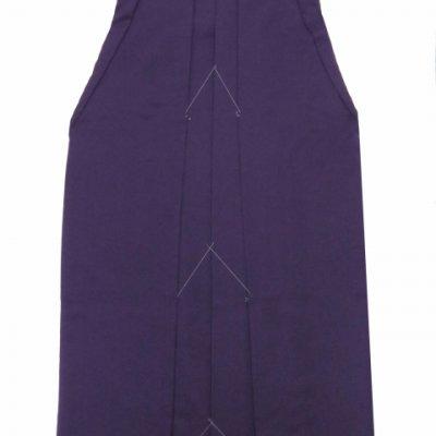 画像5: 卒業式 小学生向け ジュニアサイズの女の子用刺繍入り袴(140サイズ)【紫、矢絣と梅】
