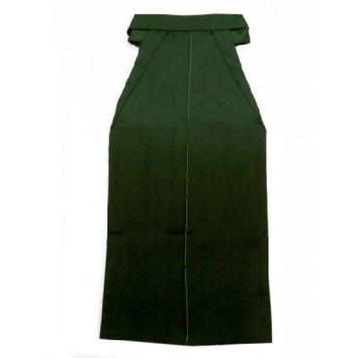 画像3: 卒業式 小学生 ジュニア向け 刺繍入りぼかし袴 78cm(135サイズ)【緑系、花に水引】