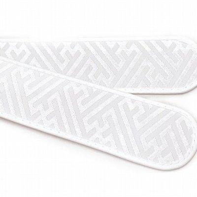 画像2: 和装小物 衿芯 折れにくい襟芯 直線型【白、紗綾型】