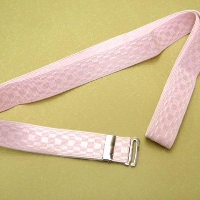 画像2: 和装小物 ウエストベルト M/L【ピンク】
