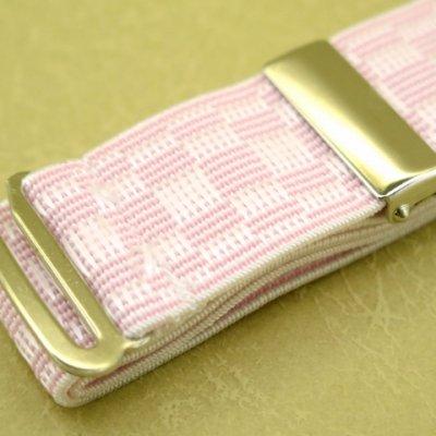 画像3: 和装小物 ウエストベルト M/L【ピンク】