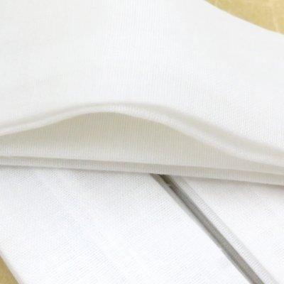 画像4: 和装小物 腰紐 モスリンの腰紐【白】3本セット