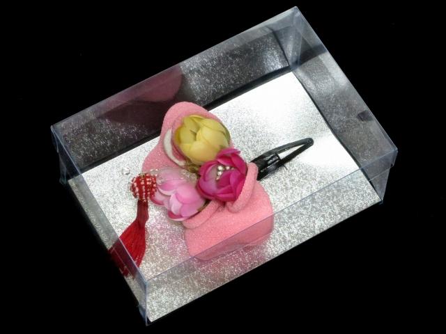 画像3: 七五三 卒園式・入学式に 子供用 ちりめん生地の髪飾り 【ピンク リボン】