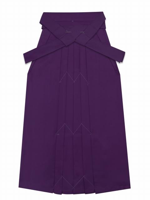 画像3: 卒業式の袴セット シンプルな色無地(上質縮緬)の着物【牡丹色】と無地袴【紫】のセット