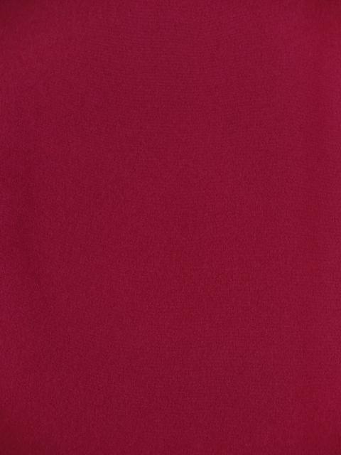 画像3: 卒業式の袴セット シンプルな色無地(上質縮緬)の着物【牡丹色】と無地袴【黒】のセット