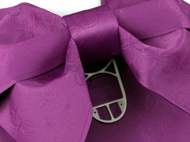 画像3: ジュニア用浴衣帯 女の子 作り帯(結び帯)【紫、蝶】