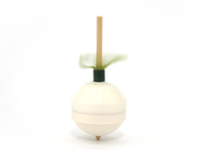 画像3: 京独楽(こま) 京都の伝統工芸品 京野菜コマ【聖護院だいこん】