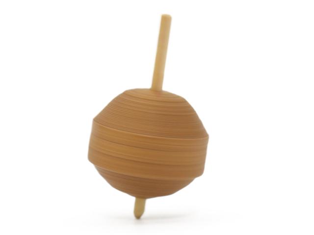 画像3: 京独楽(こま) 京都の伝統工芸品 京野菜コマ【やまのいも】